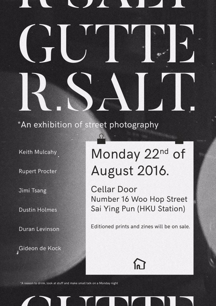 Gutter Salt Art Exhibition - 22 August 2016