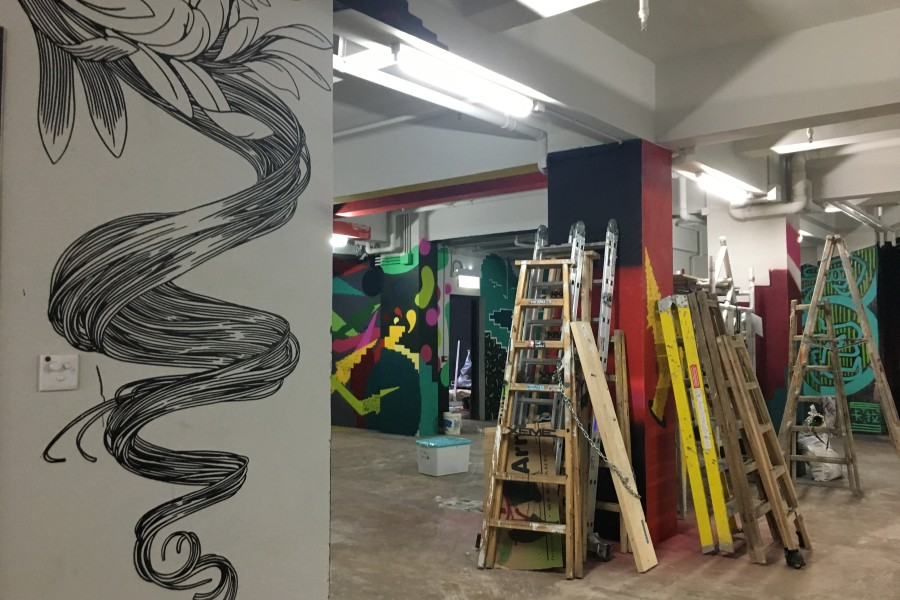 Yat Fu Lane <br> Art in Progress