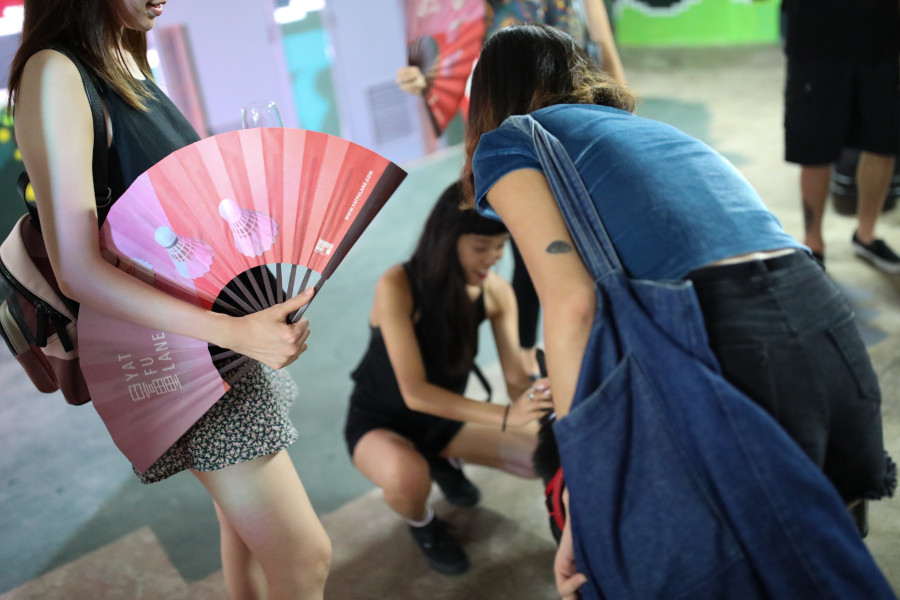 Yat Fu Lane Opening X HKwalls Pop up Exhibition
