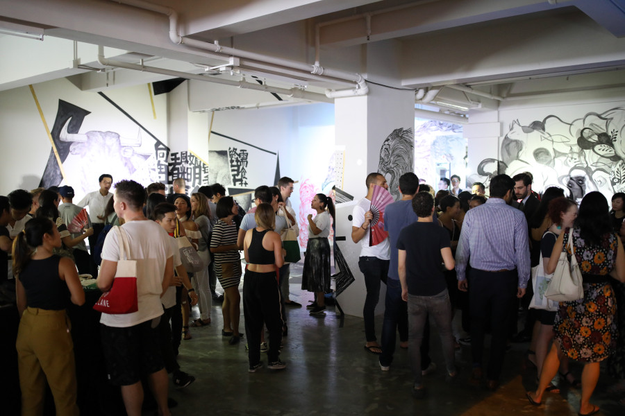 Yat Fu Lane Opening X HKwalls Pop up Exhibition
