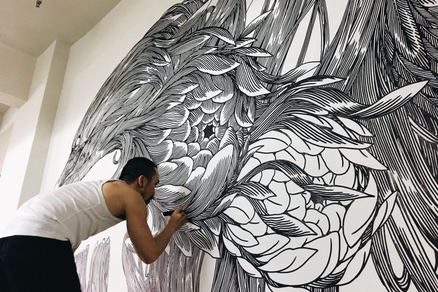Yat Fu Lane <br> Artist Feature <br> Kristopher Ho